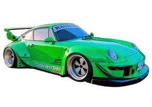 1/43 RWB 993 Green【IG2170】 ignitionモデル