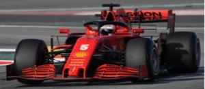 1/43 Scuderia Ferrari SF1000 No.5 Scuderia Ferrari Barcelona Test 2020【LSF1027】 LOOKSMART