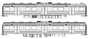 [鉄道模型]アクラス (HO)16番 FH-4123 モハ211 2000 モハ210 2000 2輌セット 塗装済(ボディーシルバーのみ)ボディキット