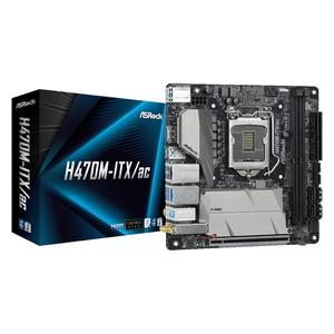 H470M-ITX/AC ASRock Mini-ITX対応マザーボードH470M-ITX/AC