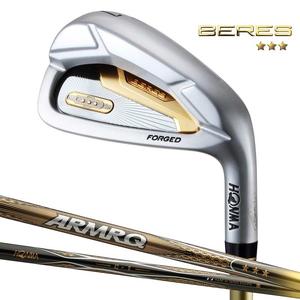 BERES7-6-11-47-3S-R 本間ゴルフ BERES (2019年モデル) アイアン-3Sグレード 6本セット(#6~#11) ARMRQ 47 3Sシャフト #6~#11 フレックス:R