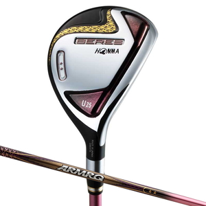 BERES7-U25-38-2S-L 本間ゴルフ BERES (2019年モデル) Ladies UT 2Sグレード ARMRQ 38 2Sシャフト #U25 フレックス:L