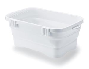 I-590 イセトウ 伊勢藤 洗い桶 キッチンソフトタブ ホワイト 6.6L ISETO Kitchen 感謝価格 tub 新発売 キッチンシンク 折りたたみ洗い桶 I590イセトウ soft