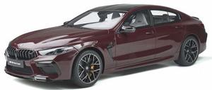 1/18 BMW M8 グランクーペ (ワインレッド)【GTS285】 GTスピリット