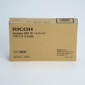 MPカ-トリツジブラツクC1500 リコー imagio MPカートリッジ C1500(ブラック) RICOH