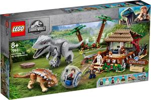 レゴ(R)ジュラシックワールド インドミナス・レックス vs. アンキロサウルス 【75941】 レゴジャパン