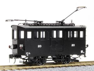[鉄道模型]ワールド工芸 (HO)16番 京福電鉄 テキ20 電気機関車塗装済完成品【特別企画品】
