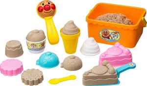 アンパンマン 砂場で遊ぼう 保証 デザートセット アガツマ 安全 それいけ