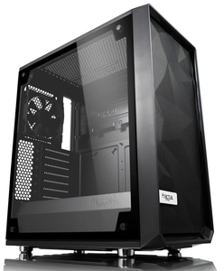 FD-CA-MESH-C-BKO-TGL Fractal Design ミドルタワー型PCケース(強化ガラス ライト)Meshify C Blackout TG Light Tint Meshify C TGシリーズ