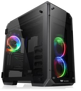 CA-1I7-00F1WN-01 Thermaltake フルタワー型PCケース VIEW 71 TG RGB(ブラック)