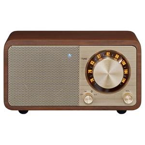 WR-301-WALNUT サンジーン FMラジオ・Bluetoothスピーカー(ウォールナット)【FM専用】 Sangean
