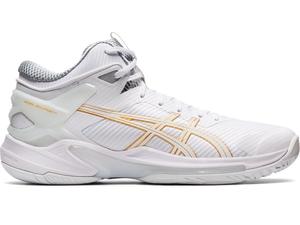 1063A015-100-26.5 アシックス バスケットボールシューズ(ホワイト/ホワイト・サイズ:26.5cm) asics GELBURST 24 ユニセックス