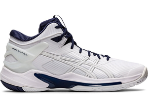 1063A015-103-26.0 アシックス バスケットボールシューズ(ホワイト/ピーコート・サイズ:26cm) asics GELBURST 24 ユニセックス