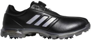 CEZ98-G26007-245 アディダス メンズ・ゴルフシューズ(コアブラック/シルバーメタリック/ダークシルバーメタリック・サイズ:24.5cm) adidas アルファフレックス ボア