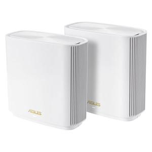 ZENWIFI/XT8/2-PACK/W エイスース 11ax(Wi-Fi 6)対応 ZenWiFi AX (XT8) 2台セット(ホワイト) ZenWiFi