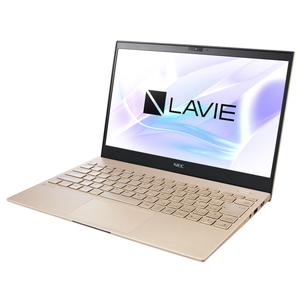 PC-PM550SAG NEC 13.3型モバイルノートパソコン LAVIE Pro Mobile PM550/SA(フレアゴールド) [Core i5/メモリ 8GB/SSD 256GB]Microsoft Office Home & Business 2019