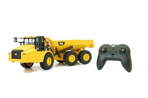 【再生産】1/24 RC CAT 建機シリーズ 745 Articulated Truck (アーティキュレート トラック:ダンプ) 【56625】 京商