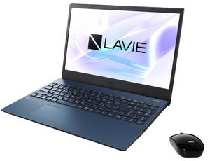 PC-N1535AAL NEC LAVIE N15 N1535/AAL(ネイビーブルー)15.6型ノートパソコン (Ryzen 3/4GB/256GB)Microsoft Office Home & Business 2019