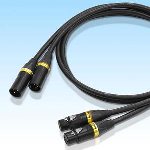 XR-3000-2.0 サエク XLRケーブル(2.0m・ペア)【特注品】 SAEC