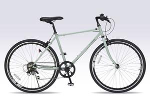 M-605-KH マイパラス クロスバイク 26インチ(カーキ) MYPALLAS 自転車