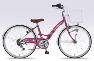 M-804F-PK マイパラス 子ども用自転車 24インチ(ローズピンク) MYPALLAS