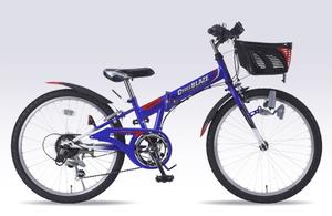 M-822F-BL マイパラス 子ども用自転車 MTB 22インチ(ブルー) MYPALLAS