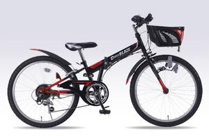 M-822F-BK マイパラス 子ども用自転車 MTB 22インチ(ブラック) MYPALLAS