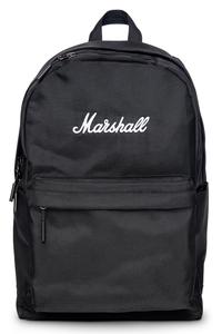 CROSSTOWN/BK/WH マーシャル シンプルデザインバックパック PC・タブレット収納スリーブあり(ブラック/ホワイト) Marshall
