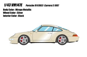1/43 ポルシェ 911(993) カレラ S 1997(ミラージュメタリック)【VM147E】 メイクアップ