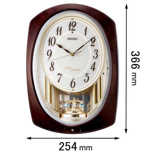 AM-265-B セイコークロック からくり時計 SEIKO 電波アミューズ時計 [AM265B]【返品種別A】