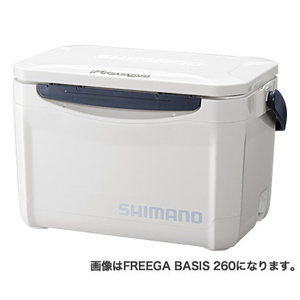 UZ-020N(ホワイト) シマノ フリーガ ベイシス 200 20L(ピュアホワイト) SHIMANO Freega BASIS 200 クーラーボックス