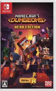 Switch Minecraft Dungeons Hero Edition メーカー直送 日本マイクロソフト NSW マインクラフトダンジョンズ HAC-P-AUZ4E 人気ブレゼント!