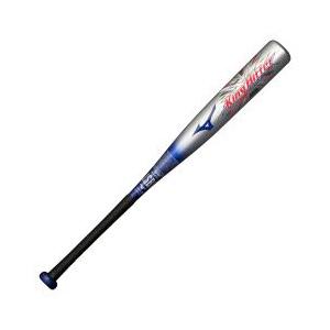 1CJFY116760327 ミズノ 少年軟式野球用FRP製バット(シルバー×ブルー・76cm) mizuno キングヒッター