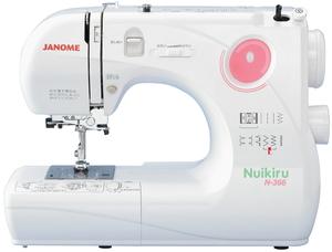 N-366 ジャノメ コンパクト電子速度制御ミシン JANOME Nuikiru [N366]