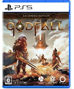 封入特典付 PS5 Godfall ゴッドフォール Ascended PLAY-0003 豊富な品 アセンディッド PLAYISM オンライン専用 Edition 35%OFF