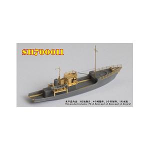 1 700 WW.II 日本海軍 新色 第一号型敷設特務艇 シードホビー ディテールアップパーツ 在庫あり SDH700011