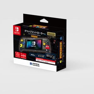 Switch グリップコントローラー for Nintendo グリップコントローラーパックマン NSW-302 ホリ 評価 ストアー パックマン