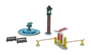 鉄道模型 トミーテック 人気 N 店内限界値引き中 セルフラッピング無料 公園A3 駅前 情景小物012-3
