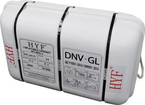 HYF6-C METEX メテックス 6人用 本日限定 自動膨張救命いかだ HYF6CMETEX 送料0円