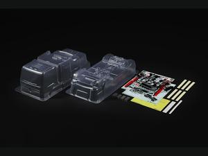 SP.1654 1 14RC 新商品 SALE開催中 メルセデス ベンツアクトロス MP4 ラジコンパーツ タミヤ MB モータースポーツ スペアボディ 51654