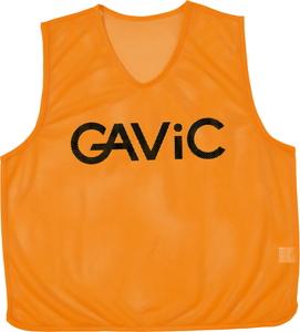 RYL-GA9105-ORG-FREE GAVIC サッカー フットサル用 ビブス サイズ:フリー オレンジ お中元 背番号付 10枚セット ガビック 新作入荷!!