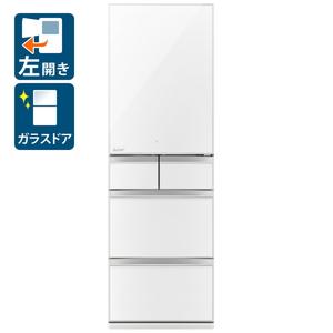 _ (標準設置料込)冷蔵庫 三菱 大型 MR-MB45GL-W 三菱 451L 5ドア冷蔵庫(クリスタルピュアホワイト)【左開き】 MITSUBISHI MBタイプ [MRMB45GLW]