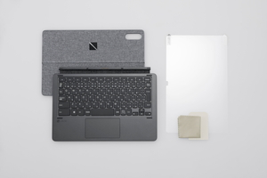 PC-AC-AD020C NEC 大注目 LAVIE T1195 BAS 画面保護フィルム プレゼント PC-T1195BAS スタンドカバー付きキーボード 用