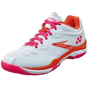 YO-SHBCF3L-062-22.0 高品質新品 ヨネックス レディース バドミントンシューズ ホワイト ピンク サイズ:22.0cm 3 YONEX WOMEN COMFORT CUSHION POWER 絶品