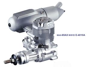 MAX-65AX W 61D 2020春夏新作 E-4010Aサイレンサー 16521 ラジコンパーツ O.S.小川精機 SALE