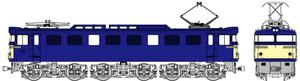 [鉄道模型]トラムウェイ (HO) TW-EF60-F010B 国鉄EF60第2次量産型一般色ブタ鼻