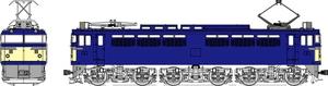 [鉄道模型]トラムウェイ (HO) TW-EF65-F011B 国鉄EF65-0番台3~5次型
