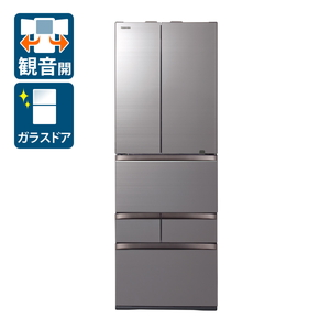 _ (標準設置料込)GR-T510FZ-ZH 東芝 508L 6ドア冷蔵庫(アッシュグレージュ) TOSHIBA VEGETA FZシリーズ [GRT510FZZH]