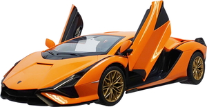 1 14 R C Lamborghini ハピネット 40%OFFの激安セール シアン 正規認証品!新規格 Sian ラジコン