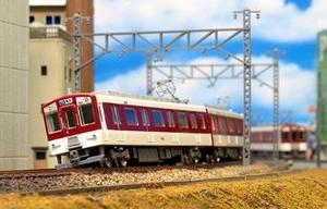 お中元 鉄道模型 グリーンマックス Nゲージ 1243T テレビで話題 塗装済みキット 2両編成動力付きトータルセット 近鉄1252系 VVVFロゴ付き